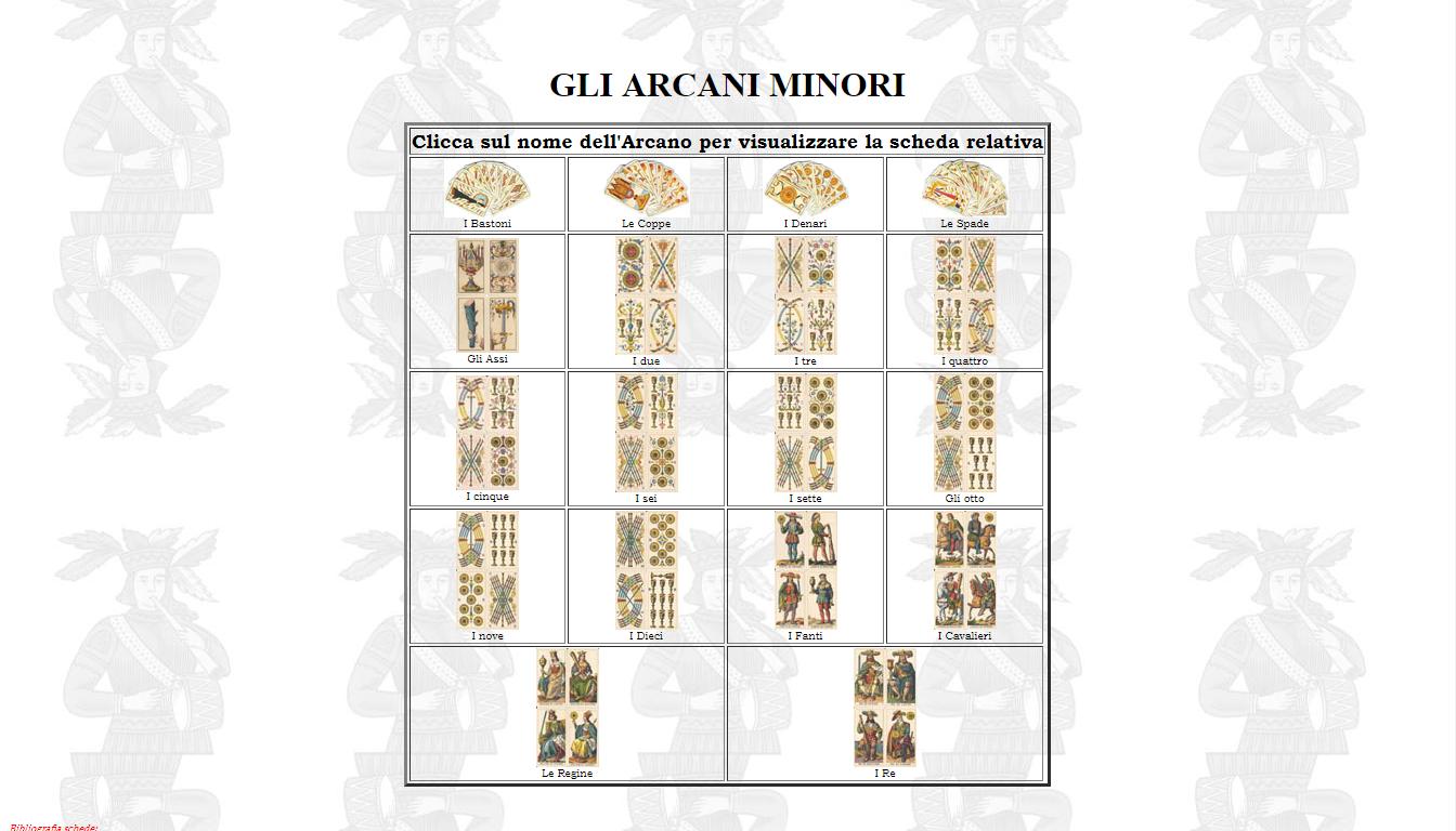 6 Fiori Tarocchi Gabriella.Tarocchi Di Gabriella Arcani Minori Tarocchi E Astrologia