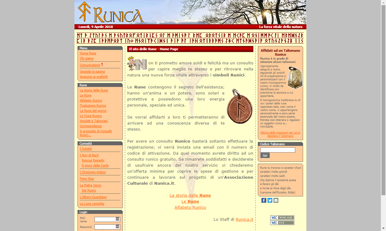 Portale sulle Rune On Line Gratis