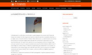 La Radiestesia e il Pendolo